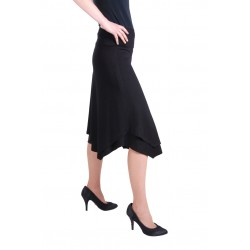 Tiered Skirt • Stufenrock, uni